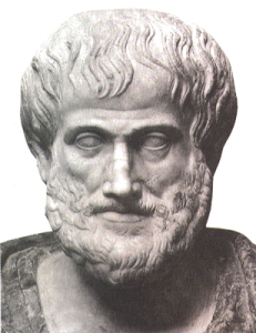 Aristotle. Great early Greek scientist who made many researches in the natural sciences including botany, zoology, physics, astronomy, chemistry, and meteorology, geometry.