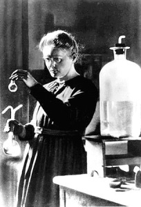 Marie Curie. Discoverd radiation and helped to apply it in the field of X ray.