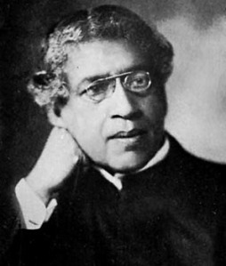 Sir Jagadish Chandra Bose. Great Bengali scientist who made important contributions in the field of radio and microwave technology. Also showed how sap in a plant rose.