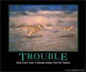 It is easier to stay out of trouble than it is to get out of trouble.