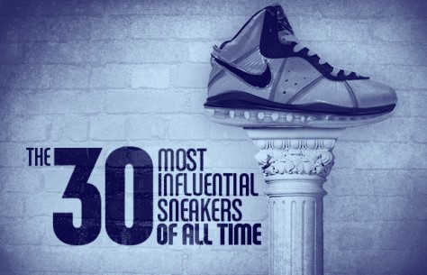 30 most influential sneakers of all time